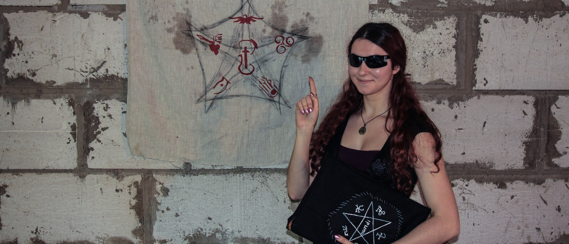 Тиа-Дарья проводит мастер-класс по ритуалистике